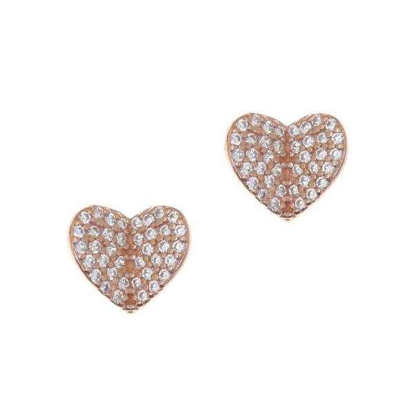 Gregio Iris Heart Earrings