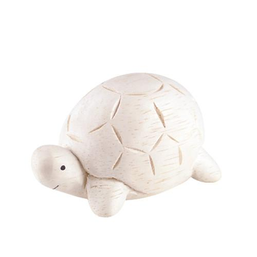 T-lab Tortoise Handcarved Wooden Ornament