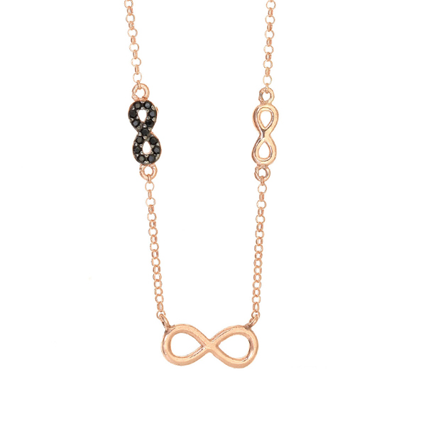 Gregio Sirens Infinity Necklace