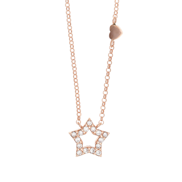 Gregio Astarte White Star Necklace