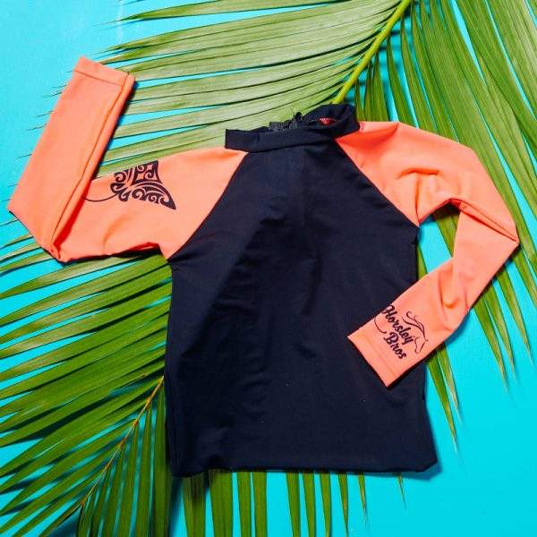 Horsley Bros Tribal x Tropical Hahalua/Manta Ray Rashvest
