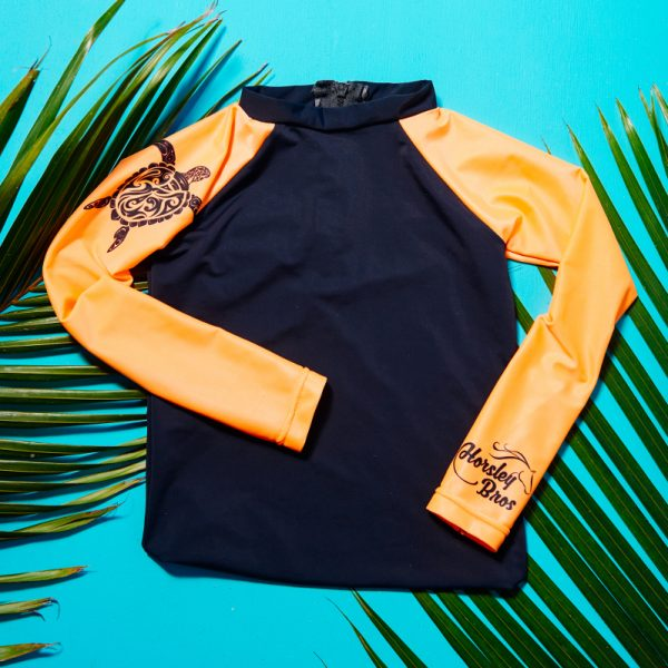 Horsley Bros Tribal x Tropical Honu/Turtle Rashvest