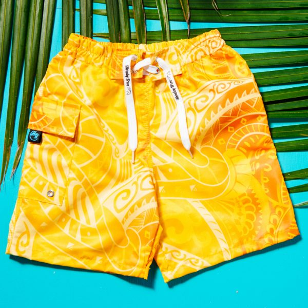 Horsley Bros Tribal x Tropical Maui Boardies