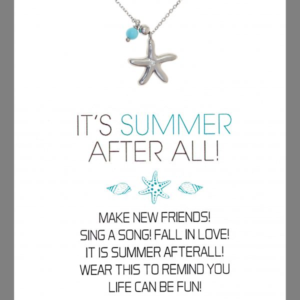 Gregio Wishes Summer Starfish Necklace
