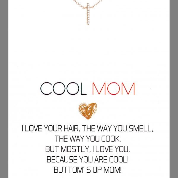 Gregio Wishes Cool Mom Necklace