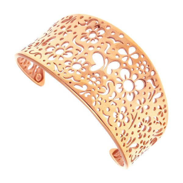 Gregio Fos Rose Gold Butterfly Cuff