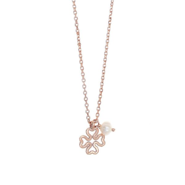 Gregio Sirens Rose Gold Good Luck Necklace