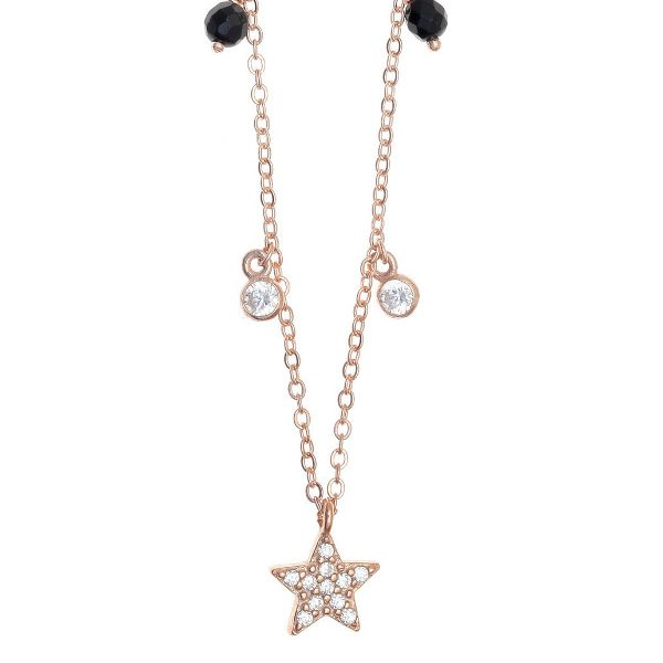 Gregio Necklace with Multi-charms & Star