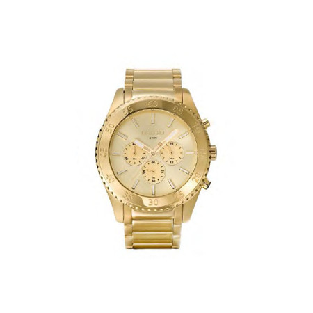 Gregio Yellow Gold Stainless Steel Watch with Quartz Movement