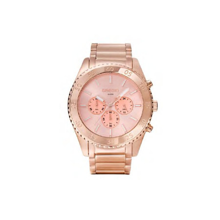 Gregio Rose Gold Stainless Steel Watch with Quartz Movement
