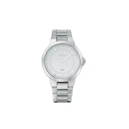 Gregio Silver Mother of Pearl, Quartz Movement, Stainless Steel Watch