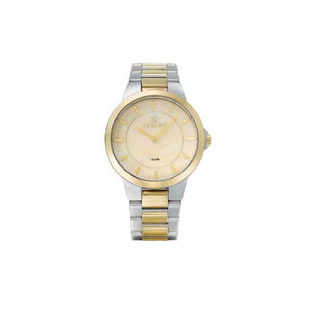 Gregio Silver/Gold Mother of Pearl, Quartz Movement, Stainless Steel Watch