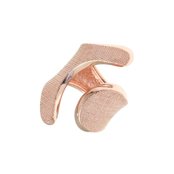 Gregio Kyma Rose Gold Moon Wrap Ring