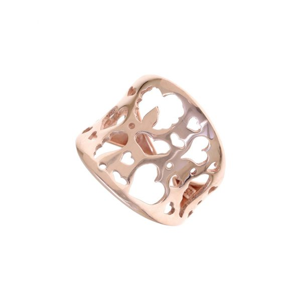 Gregio Fos Rose Gold Angel Love Wrap Ring