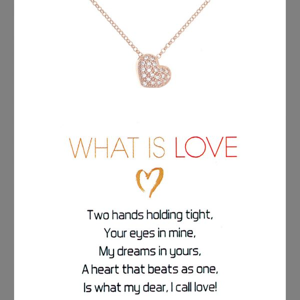 Gregio Wishes What is Love Necklace