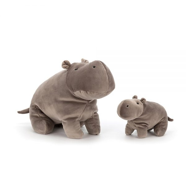 Jellycat Mellow Mallow Hippo Large and Small